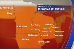 The drunkest city in the U.S.