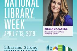 National Library Week (Apr 7-13, 2019) 美国的图书馆周